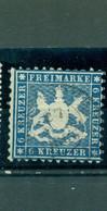 Württemberg, Wappen Im Quadrat Nr. 27 A Gestempelt - Wuerttemberg