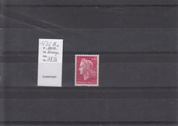 Variété - YT 1536 B C (**) N° Rouge - Variedades: 1960-69 Nuevos