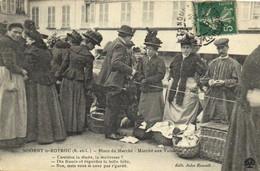 NOGENT Le ROTROU  Place Du Marché Marché Aux Volailles RV - Nogent Le Rotrou