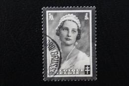 1935,BELGIQUE Y&T NO 415 70C+5C NOIR MORT DE LA REINE ASTRID OBLITERE ... - Used Stamps