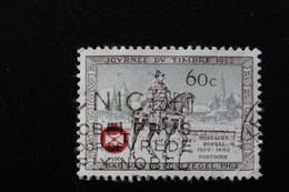 1966,BELGIQUE Y&T NO 1395 60C SEPIA ET VERT  OBLITERE ... - Oblitérés