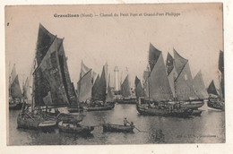 Gravelines Chenal Du Petit Port Et Grand Fort Philippe - Gravelines