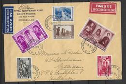 OBP513/18 Op Gelopen Brief Naar Rotterdam Met Aankomststempel - Covers & Documents