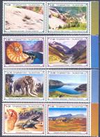2020. Tajikistan, Paleontology, Prehistoric Animals, 8v Perforated, Mint/** - Tadschikistan