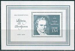 DDR - Mi 1631 ✶✶ - 1M   Beethoven - Unused Stamps
