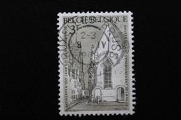 1969,BELGIQUE Y&T NO 1487 3F GRIS-VERT ET NOIR  ANCIENNE CHAPELLE ST-JACQUES ANVERS OBLITERE .. - Oblitérés