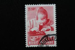 1962,BELGIQUE Y&T NO 1226 1.50F ROUGE OBLITERE  .. - Oblitérés