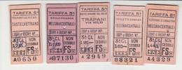 Biglietti Treno  Repubblica--.Italia Italy - Europa