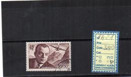PA. Oblitéré - N°21 - 1927-1959 Matasellados