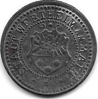 *notgeld Wertheim 5 Pfennig ND Zn 597.1 - Other