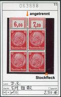 Deutsches Reich - Deutschland - Allemagne - Michel 519 Im Viererblock As Per Scan - ** Mnh Neuf Postfris - Used Stamps
