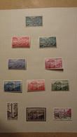 Lot De Timbres Neufs Avec Charnière - Unused Stamps