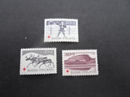 K46480 - Set  MNh  Finland 1960 - SC. B157-159 - Red Cross - Croce Rossa