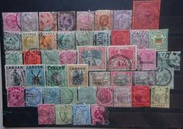 GROOT BRITTANIE  -  Colonies     Samenstelling Oa. Ceylon, Jamaica, Mauritius,   ....  Gemengde Kwaliteit   Gestempeld - Unclassified