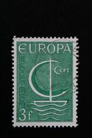 1966 BELGIQUE EUROPA Y&T NO 1389 3F VERT ... - Oblitérés