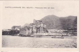 Castellammare Del Golfo - Panorama Visto Dal Mare - Trapani
