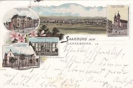 SARREBOURG - MOSELLE - (57) - LITHOGRAPHIE DE 1897... - Sarrebourg