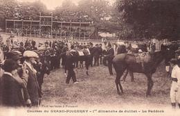 LE GRAND FOUGERAY  -  Courses HIPPIQUES - 1 Er Dimanche De Juillet  -Le PADDOCK - Autres Communes
