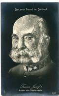 14-18.WWI  Propaganda - SELTEN !!! Kaiser Franz Josef  SELTEN !!! Dreierbund - Guerra 1914-18