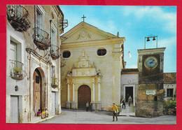 CARTOLINA NV ITALIA - TAVERNA (CZ) - Palazzo Rinascimentale Gironda E Chiesa Di S. Domenico - 10 X 15 - Catanzaro