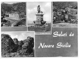 Saluti Da Novara Sicilia (Messina). Vedutine. - Messina