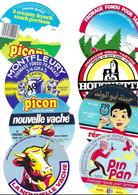 Lot N°134 De 8 étiquettes De Fromage Neuves Pas Décollées - Käse