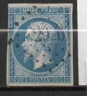 N° 14A - Oblitéré - Napoléon III - 1853-1860 Napoleon III
