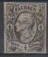 288/ Mi: 8  ; Used;1855; Cat €  8.00 - Sachsen