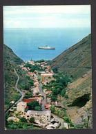 RARE - ST. HELENA - 1 G - ( Saint-Hélène ) JAMESTOWN - Vue Aérienne Sur Le Village Et Passage D'un Ferry - Saint Helena Island