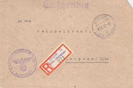 R-Brief Minsk - Meißen 1942 AKS - Officials