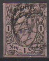 292/ Mi: 9 I  ; Used;1855; Cat €  8.00 - Sachsen