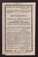 AMELIA BEYAERT   NAZARETH 1826      GENT  1891 - Overlijden