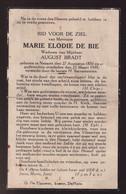 MARIE DE BIE    NAZARETH 1870        1939 - Overlijden
