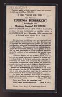 EUGENIA HEBBRECHT       NAZARETH 1852      GENDBRUGGE  1922 - Overlijden