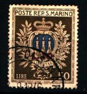 31561) SAN MARINO-Pro Opere Assistenza - 28 Agosto 1946-USATO - Unclassified