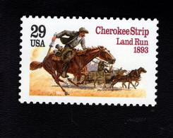 207286952  SCOTT 2754 POSTFRIS MINT NEVER HINGED EINWANDFREI (XX) - CHEROKEE STRIP LAND RUN CENTENNIAL HORSE CAR - Unused Stamps
