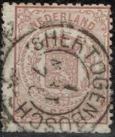 Pays-Bas - 1869 - Y&T N° 13, Oblitéré 's Hertogenbosch - Marcophilie