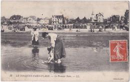 62. LE TOUQUET-PARIS-PLAGE. Le Premier Bain. 32 - Le Touquet