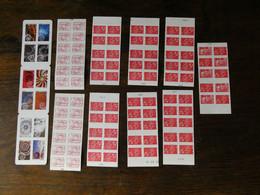 FRANCE 10 Carnets TVP Lettre Prioritaire Soit 106 Timbres Neufs Sans Charnière  Faciale Moins 40 % Voir  Scans - Adhesive Stamps