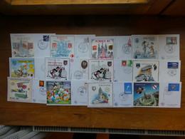 FRANCE 25 Blocs CNEP Sur Enveloppe Premier Jour FDC Voir  Scans - CNEP