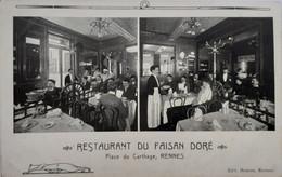 Restaurant Du Faisan Doré, Place Du Carthage, Rennes - Rennes