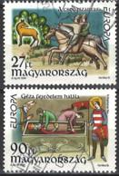 Ungarn Hungary 1997. Mi.Nr. 4455-4456, Used O - Usati