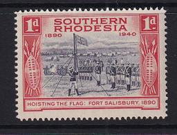 Southern Rhodesia: 1940   BSAC's Golden Jubilee   SG54    1d    MNH - Zuid-Rhodesië (...-1964)