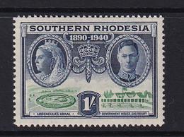 Southern Rhodesia: 1940   BSAC's Golden Jubilee   SG60    1/-    MNH - Zuid-Rhodesië (...-1964)