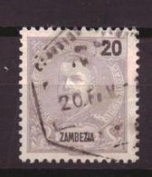 Zambezia 18 Used (1898) - Zambezia