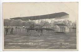 PERIGUEUX Dordogne Aviation Avion Carte Photo Meeting Avril 1911 Aviateur FICHER  Photo Portas ................G - Périgueux
