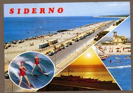 °°° Cartolina - Siderno Vedute Viaggiata (l) °°° - Reggio Calabria