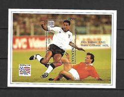 Tanzania 1994 Football World Cup - USA #2 MS MNH - 1994 – Verenigde Staten