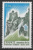 France 1978 - Franche-Comté (gomme Tropicale Mate)  Y&T N° 2015 (a) ** Neuf Luxe - Cote Maury 30.00 € - Nuovi