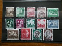 ALLEMAGNE Reich Année 1936-38  Neufs Sans Charnière  Cote 157 € - Unused Stamps